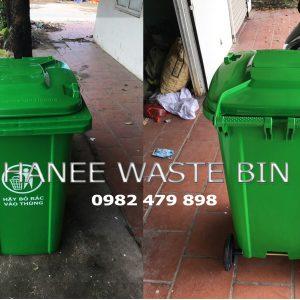 thùng rác 240 lít cao cấp