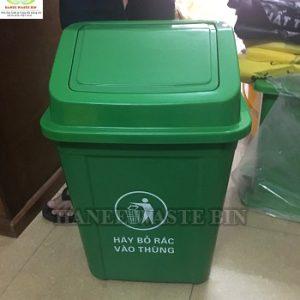 thùng rác nắp lật 30 lít