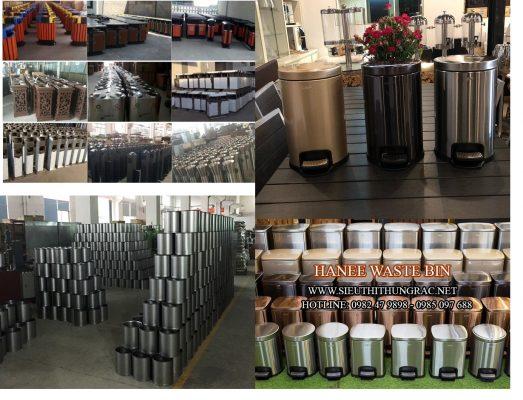 thùng rác inox cao cấp