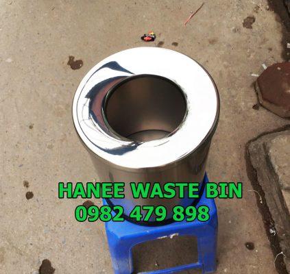 thùng rác nắp hở 250x305 mm