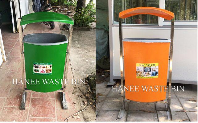 thùng rác composite treo đơn